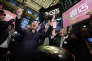 Min Luo, PDG de Qudian, à l'occasion de l'introduction en Bourse de la société, le 18 octobre, à New York.