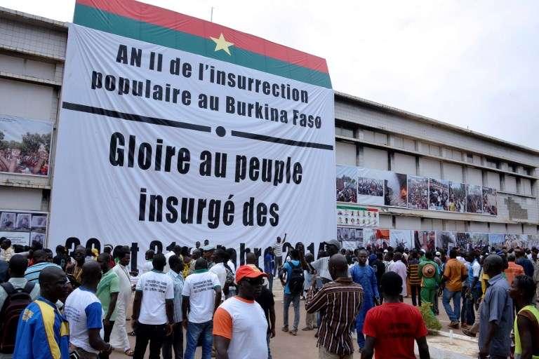 A Ouagadougou, le Parlement burkinabé en octobre 2016, deux après la chute du président Blaise Compaoré.