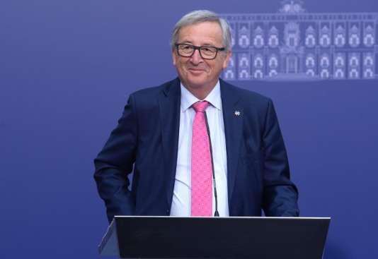 Le président de la Commission européenne, Jean-Claude Juncker, en janvier, à La Valette.