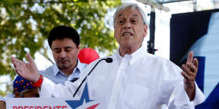 L'ex-président chilien de centre droit et candidat Sebastian Piñera, à Santiago, le 17 novembre.