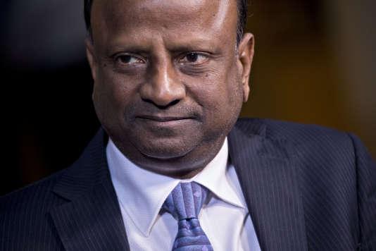 Rajnish Kumar, nouveau directeur de la State Bank of India (SBI), la plus grande banque de l'Inde.