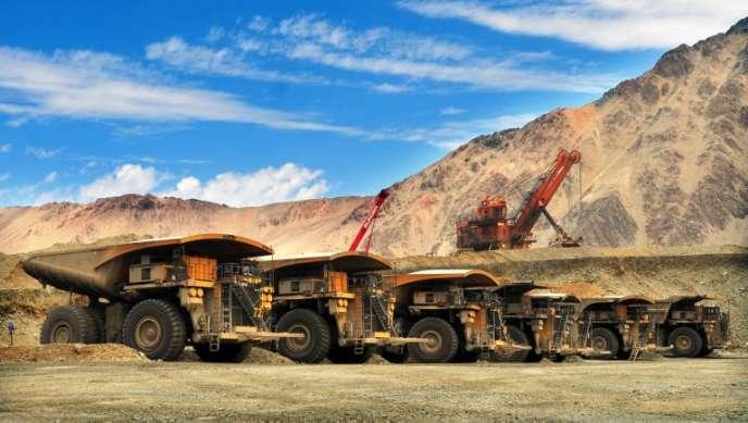 Mine de cuivre de Los Bronces, près de Santiago du Chili, exploitée par Codelco, la compagnie minière chilienne, en décembre 2011.