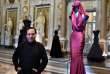 "(FILES) This file photo taken on July 10, 2015 shows Tunisian-born, Paris-based couturier Azzedine Alaia posing during the press preview of the exhibition "" Azzedine Alaia's soft sculpture"" at the Galleria Borghese in Rome. Alaia died, according to the French Haute Couture Federation, AFP reports on November 18, 2017. / AFP / Gabriel BOUYS"