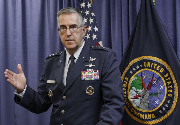 Le général John Hyten, à Bellevue (Nebraska), en novembre 2016.