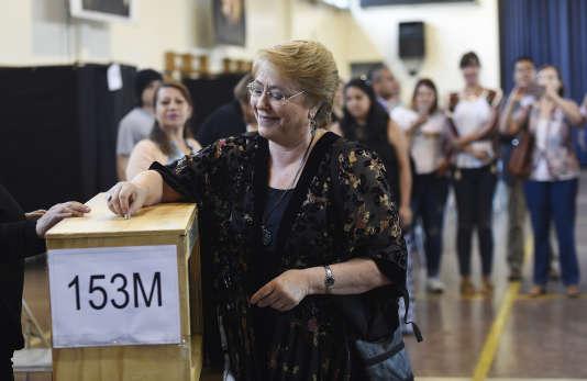 La présidente chilienne, Michelle Bachelet.