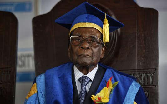 Le président du Zimbabwe, Robert Mugabe.