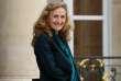 La ministre de la justice Nicole Belloubet sortant d'un conseil des ministres, à l'Elysée, le 25 octobre.