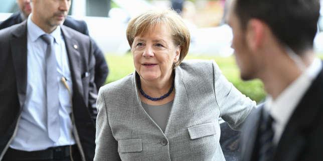 Angela Merkel, dimanche 19 novembre.