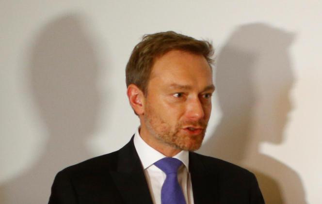 Christian Lindner, à Berlin, le 20 novembre.