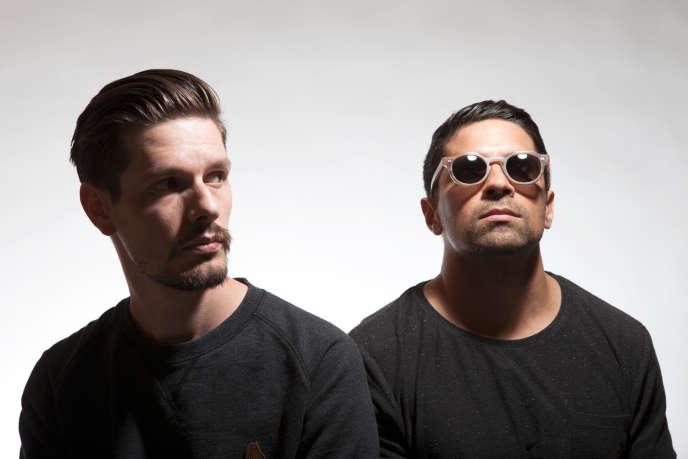 Le DJ 20syl(Hocus Pocus et de C2C) et le rappeur Mr. J.Medeiros (The Procussions, du duoAllttA.