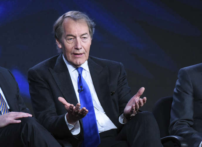 Charlie Rose lors de « CBS This Morning » en janvier 2016.