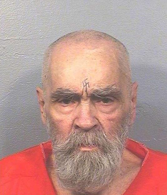 Photo de Charles Manson, datée du 14 août 2017, diffusée par les services pénitentiaires de Californie.