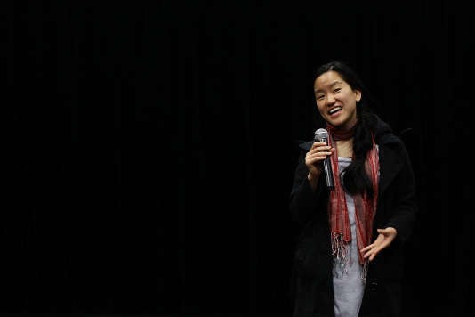 SYDNEY, AUSTRALIA - AUGUST 07: Marita Cheng, Young Australian of the Year 2012 addresses students of Newtown High School of Performing Arts on August 7, 2012 in Sydney, Australia.The visits are part of a Tour of Honour for the recipients of the 2012 Australian of the year and 2012 Young Australian of the Year awards. (Photo by Brendon Thorne/Getty Images)