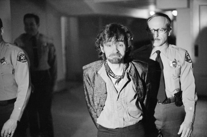 Charles Manson, le 21 décembre 1970.