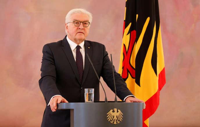 Le président allemand, Frank-Walter Steinmeier, le 20 novembre 2017 à Berlin.