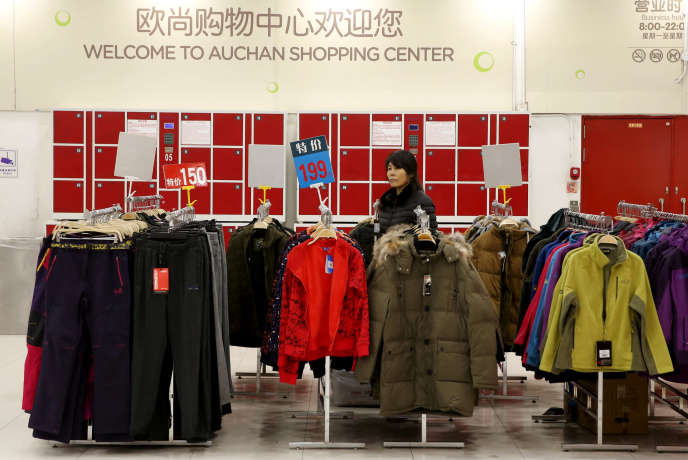 La filiale chinoise d'Auchan se présente comme le leader de la distribution alimentaire physique en Chine.