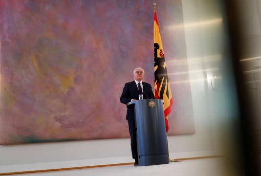 Le président allemand, Frank-Walter Steinmeier, le 20 novembre, à Berlin.