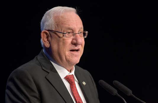 Le président israélien, Reuven Rivlin, à Munich, le 6 septembre.