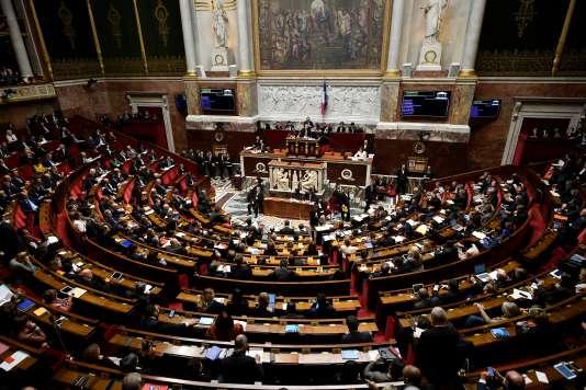 L'Assemblée nationale, le 31 octobre.
