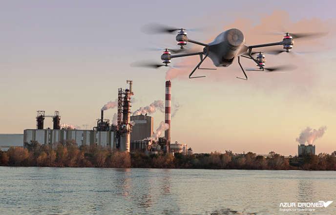 Le système autonome Skeyetech d'Azur Drones