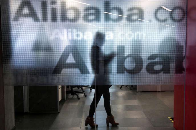 Au siège social d'Alibaba, à Hangzhou (Chine). Le géant du commerce en ligne vient de prendre une participation dans la plus grande chaîne de supermarchés de Chine.