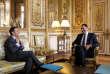 Pour la première fois, Christophe Castaner a été accueilli à l'Elysée en tant que chef de file de La République en marche, à l'occasion d'une concertation avec Emmanuel Macron sur le prochain scrutin européen.