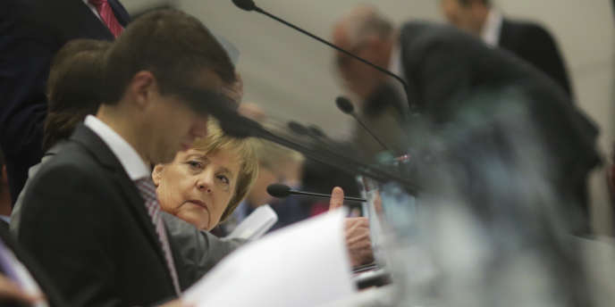 Angela Merkel à Berlin, le 20 novembre.