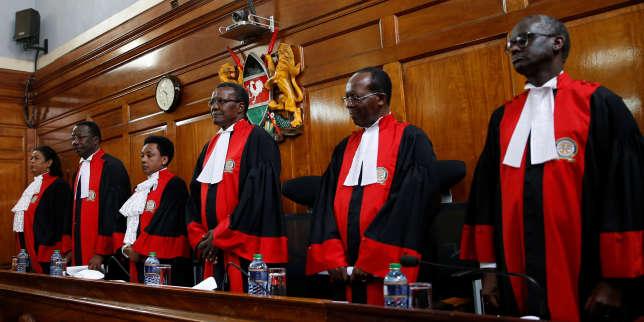 """Résultat de recherche d'images pour """"Kenya, réélection d'Uhuru Kenyatta, fiasco démocratique, 2017"""""""