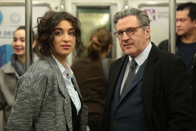 Camélia Jordana et Daniel Auteuil dans« Le Brio», film français d'Yvan Attal.