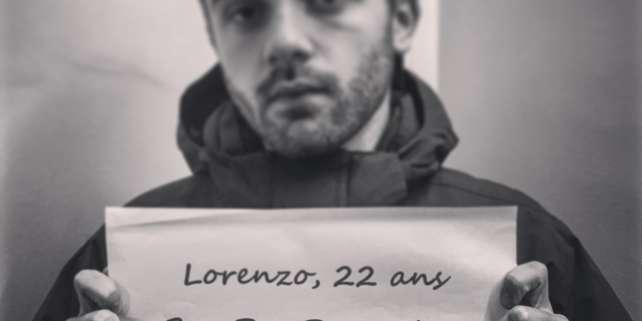 Lorenzo, étudiant à l'université Paris-Nanterre, évoque sa« revanche».