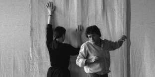 Lella Cuberli et Patrice Chéreau pendant les répétitions de «Lucio Silla» au Teatro alla Scala de Milan, en1984.