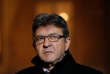 """Jean-Luc Melenchon, leader of Far-left opposition """"France Insoumise"""" (France Unbowed) party, leaves after a meeting at the Elysee Palace in Paris, France, November 21, 2017. REUTERS/Philippe Wojazer"""