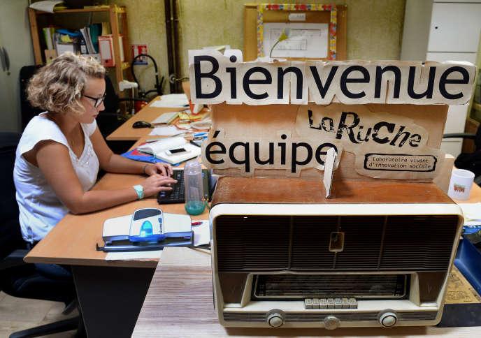 L'incubateur de La Ruche !, à Paris.
