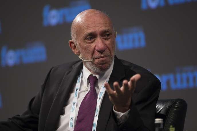 Richard Anderson Falk, lors du TRT World Forum, à Istanbul, le 19 octobre 2017.