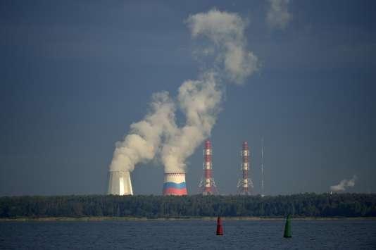 Centrale nucléaire à Saint-Pétersbourg (Russie), en 2013.