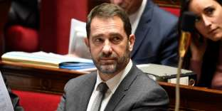 French Junior Minister for the Relations with Parliament and Government Spokesperson Christophe Castaner is pictured during a session of Questions to the Government, on November 21, 2017 at the National Assembly in Paris. / AFP / BERTRAND GUAY