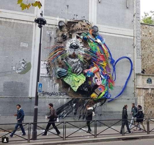 Street art trois uvres ph m res ne pas rater - Galerie street art paris ...