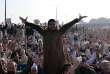 Des Pakistanais protestent depuis plusieurs semaines à Islamabad, comme ce 21 novembre.