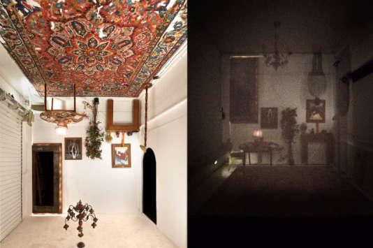 « Mirror I » et « Mirror II », une collaboration de Gonzalo Borondo et Carmen Main.