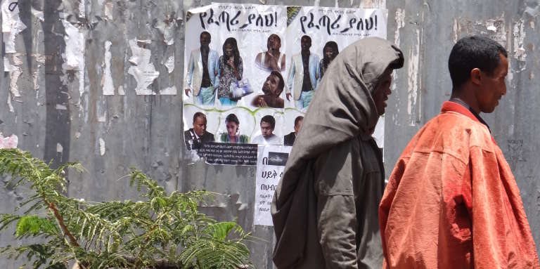 A Bahar Dar, en Ethiopie, en 2013.
