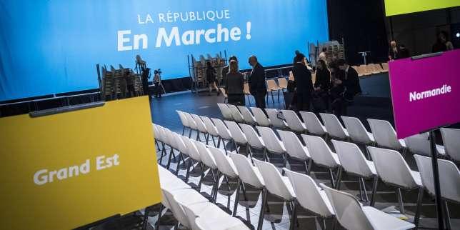 Lors du premier congrès de la République en Marche, à Lyon, le 18 novembre.