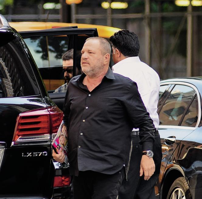 Le producteur Harvey Weinstein, le 10 juillet 2017, dans le quartier de Soho, à New York.