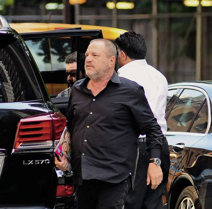 Le producteur Harvey Weinstein, le 10 juillet 2017, dans le quartier de Soho, à New York.