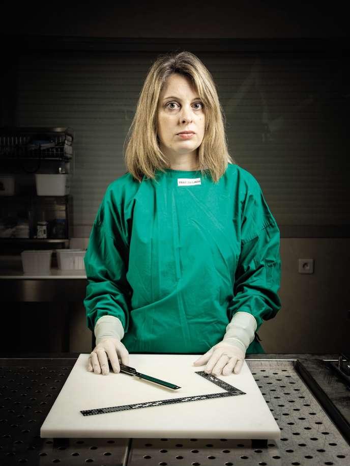 Alexia Delbreil est psychiatre et médecin légiste au CHU de Poitiers.
