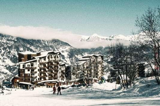 Station de ski La Tania.