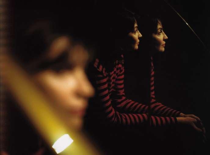Zabou Breitman à Paris, le 10 novembre.