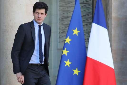 Julien Denormandie,secrétaire d'Etat auprès du ministre de la cohésion des territoires, le 22novembre 2017.