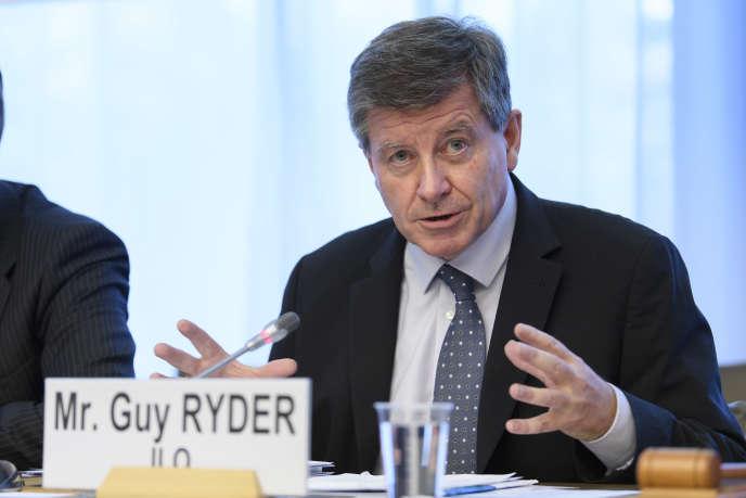 Le Britannique Guy Ryder, directeur général de l'Organisation internationale du travail (OIT), à Genève, le 22 novembre.