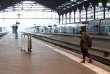Gare de Lyon, lors d'une grève le 1er juin 2016.