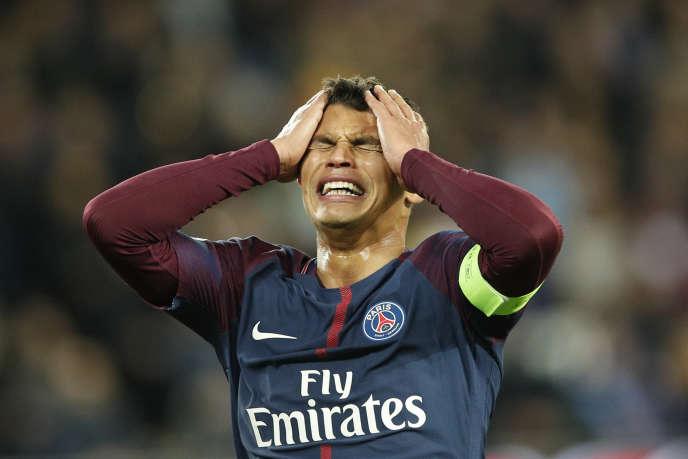 Thiago Silva, le 22 novembre à Paris.